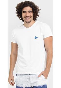 Camiseta Rg 518 Básica Bordado - Masculino-Branco