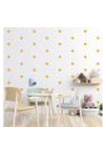 Adesivo Decorativo De Parede - Kit Com 230 Flores - 013Kaa02