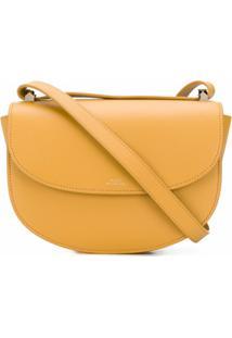 A.P.C. Bolsa Transversal - Amarelo
