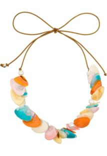 Dinosaur Designs Rockpool Charm Necklace - Multi Bright