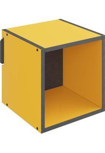 Nicho 1002 Mov 29,5 X 29,5 X 29,5 Amarelo - Be Mobiliário