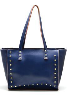 Bolsa Sacola Dr Shoes Azul-Marinho