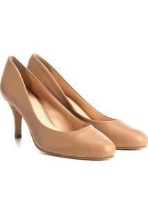 c2a41471a0 Shoestock. Scarpin Couro Shoestock Salto ...