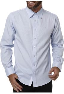 Camisa Manga Longa Masculina Bivik Lilás - Masculino