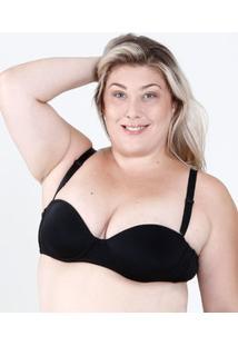 22eaa54d2 Marisa. Sutiã Preto Dilady Plus Size Feminino Redutor