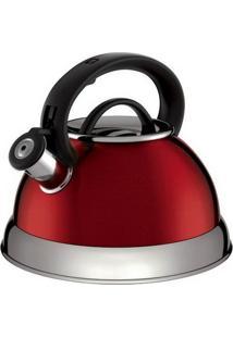 Chaleira Euro Home 3121 2.8L Vermelha