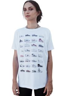 Camiseta Lab77 Sneakers Branca
