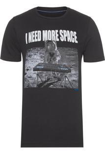 Camiseta Masculina More Scape - Preto