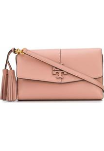 Tory Burch Mcgraw Cross Body Bag - Rosa