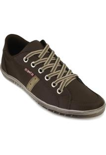Sapatênis Spell Shoes Masculino - Masculino-Marrom+Bege