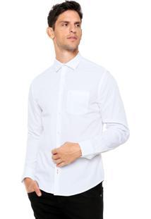 Camisa Forum Bolso Branco