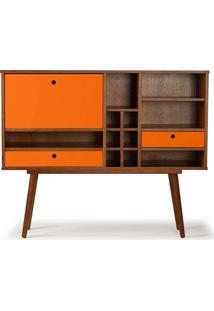 Estantes / Bar Willie Laranja - Tommy Design
