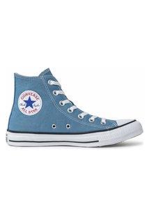 Tênis Converse Chuck Taylor All Star Hi Azul Escuro Ct04190049.34