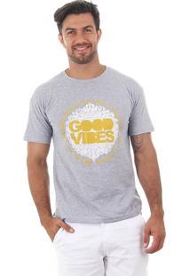 Camiseta Masculina Maidale - Amarelo