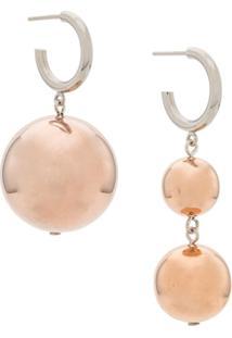 Isabel Marant Ball Drop Earrings - Metálico