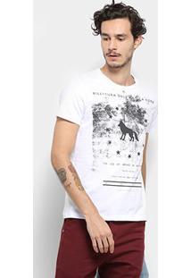 Camiseta Acostamento Masculino 81102171 - Masculino-Branco