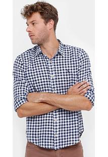 Camisa Xadrez Reserva Regular Vicky Masculina - Masculino