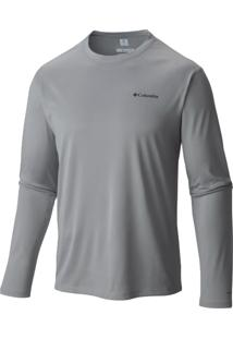 Camiseta Cool Breeze Ml Masc 320307 - Columbia