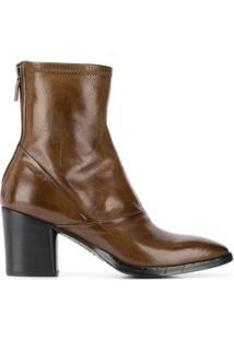 Alberto Fasciani Ankle Boot Ursula - Marrom