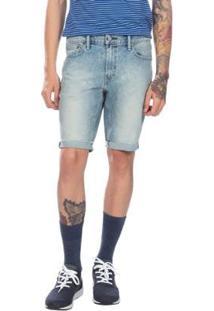 Bermuda Jeans Levis Slim Cut Off Masculina - Masculino-Azul Royal