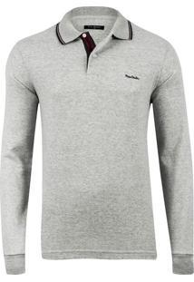 Polo Flannel Clear Grey