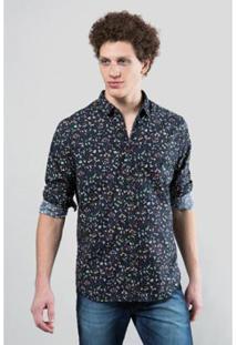 Camisa Ml Reserva Cerrado Black Masculina - Masculino