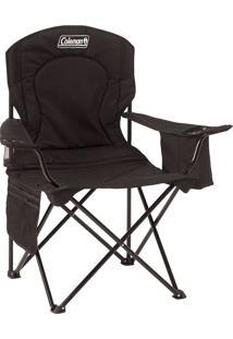 Cadeira Dobrável Com Cooler - Preto - Coleman