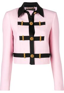 Versace Jaqueta Cropped - Rosa