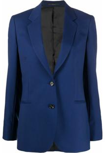Paul Smith A Suit To Travel Single-Breasted Blazer - Azul