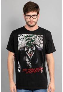 Camiseta Bandup The Joker A Piada Mortal Black - Masculino-Preto