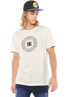 Camiseta Dc Shoes Target Off-White