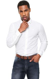 Camisa Timberland Slim Branca