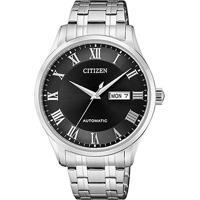 bf7fc478496 Relógio Citizen Analógico Automático Tz20797T Masculino - Masculino-Prata +Preto