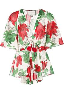 Alexis Blusa Com Estampa Floral - Verde