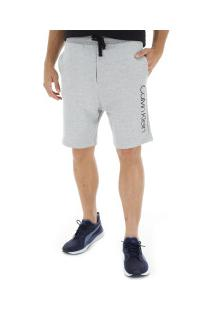 Bermuda Moletinho Calvin Klein - Masculina - Cinza