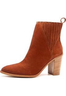 Bota The Box Project Burque Feminina - Feminino-Caramelo
