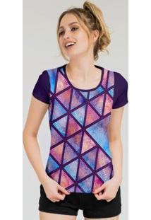 Camiseta Stompy Feminina Estampada 04 - Feminino-Roxo