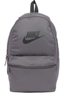 Mochila Nike Sportswear Heritage Cinza