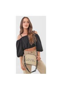 Bolsa Transversal Across Body Bag Alola Bege