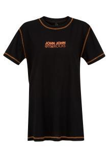 Camiseta John John Biles - Feminina - Preto
