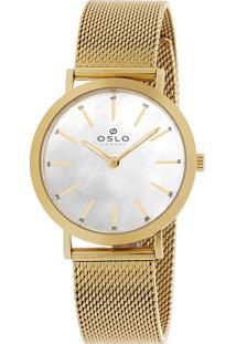 Relógio Oslo Feminino - Ofgsss9T0008 B1Kx - Dourado