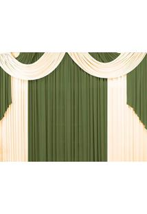 Cortina Casa Conforto Lisboa 2M- Verde Taipa