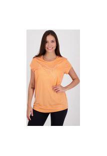 Camiseta Puma Active Heather Feminina Coral
