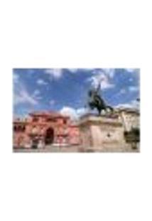 Painel Adesivo De Parede - Buenos Aires - Argentina - Casa Rosada - 1666Png