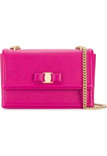 Salvatore Ferragamo Ginny Shoulder Bag - Rosa