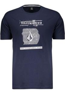 Camiseta Volcom Silk Id Masculina - Masculino