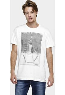 Camiseta Volcom Long Fit Spot - Masculino