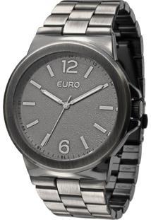 Relógio Euro Feminino Saragoça Eu2036Aje/3C - Ródio