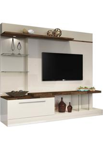 """Home Para Tvs De Até 60"""" Allure Off White / Deck"""