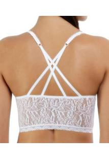 Top Brallete Em Renda Liz Injoy (81267)
